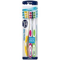 Dentalux подвійна зубна щітка 2шт.