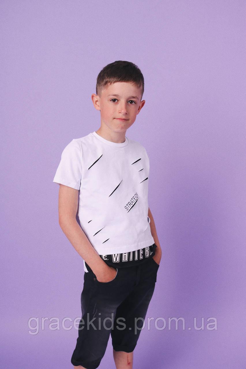 Модные летние комплекты для мальчиков BEBUS,разм 5-8лет