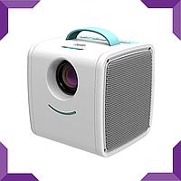 Дитячий міні портативний проектор Q2 Kids Story Projector Blue, фото 1
