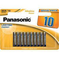 Батарейка PANASONIC AAA LR03 Alkaline Power * 10 (LR03REB/10BW)