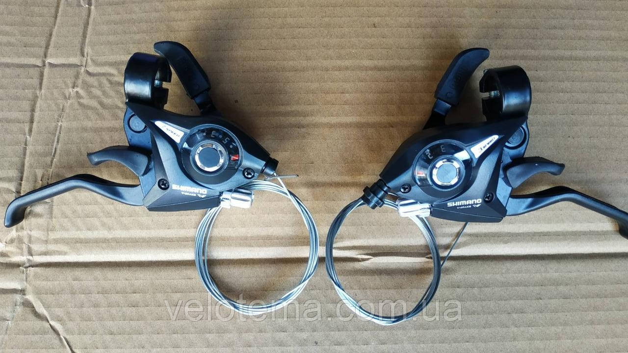 Моноблоки - Shimano ST-EF51  3/7 скоростей