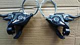 Моноблоки - Shimano ST-EF51  3/7 скоростей, фото 2