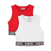 Топ для девочки MEK (2 шт.)  201MIFN008-995   (р.122-170 ), фото 1