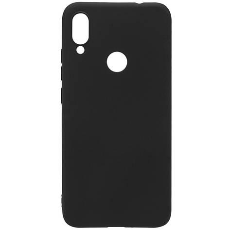 Чехол силиконовый для XIAOMI Redmi Note 7 SMTT чёрный, фото 2