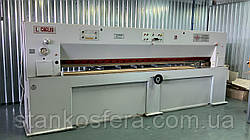 Гильотина резки шпона б/у Caglio TRC-3600 продольная +поперечная гильотина для шпона бу OMPEC PRO-800/S