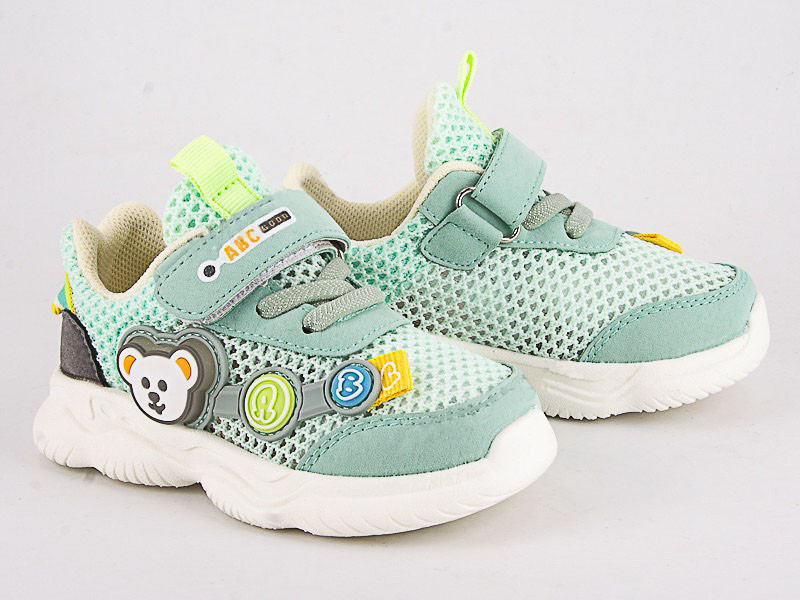 Легкі літні дитячі кросівки , тм ABC Good розміри 26 (зелений)