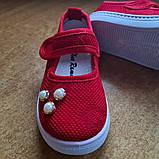 Текстильные туфли-слипоны  размер 25-15 см., фото 2