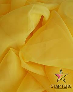 Вуаль-шифон Жовтий
