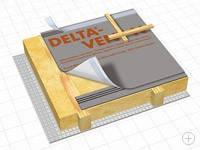 Гидроизоляционная диффузионная мембрана DELTA - VENT N, фото 1