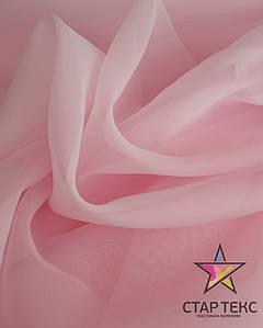 Вуаль-шифон Світло-Рожевий