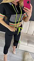 Женский спортивный костюм в камнях Турция, фото 1