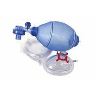 Мешок дыхательный реанимационный типа Амбу (ПВХ), для взрослых