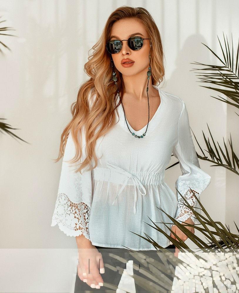 Minova / Рубашка с V-образным вырезом Разные цвета