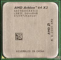 Процессор AMD Athlon 64 X2 3800+, 2000MHz, sAM2, tray