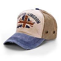 Бейсболка United Kingdom, с эмблемой Великобритании, кепка блайзер унисекс