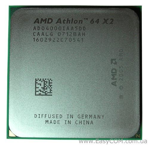 Процессор amd athlon 64 x2 4000 2 10ghz sam2 в Категории
