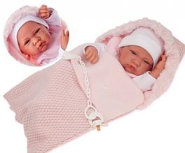 Кукла младенец Saco Lana 42 см Antonio Juan 5016