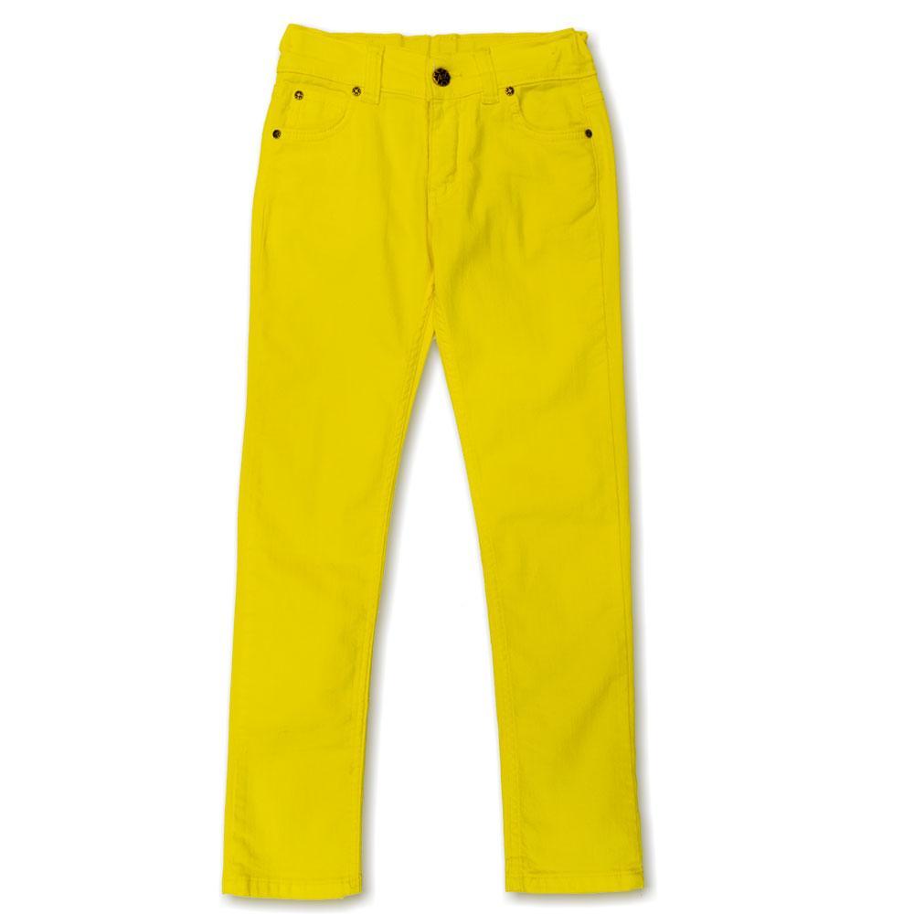 Брюки для девочек Terry 134  желтые 5013