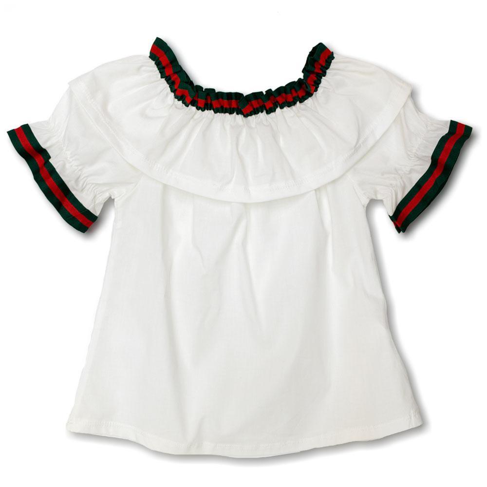 Блуза для девочек Fashion 116  белая 2219