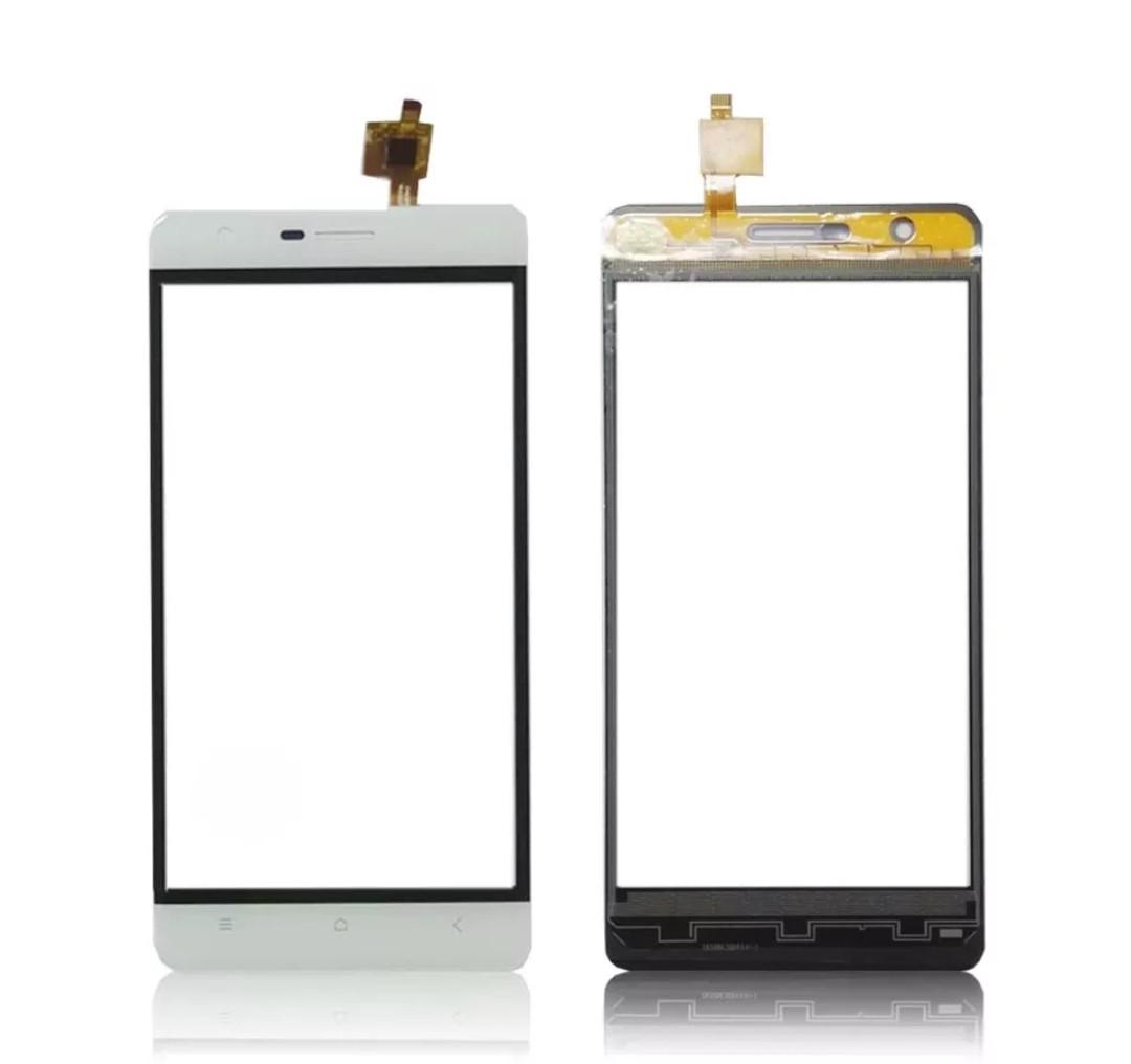 Touchscreen (сенсор) для Oukitel K4000 Lite Білий