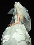 Одяг для ляльок Барбі (весільний наряд), фото 2