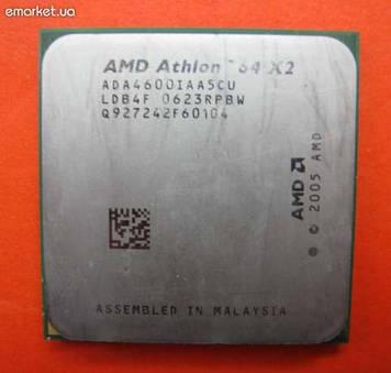 Процессор AMD Athlon 64 X2 4600+ 2.4GHz/1M/2000 (SDA4600IAA5CU) sAM2, tray