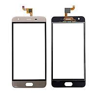 Touchscreen (сенсор) для Oukitel K4000 Plus Золотий