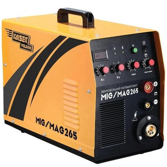 Сварочный полуавтомат Kaiser MIG-265 2в1 (инверторный)