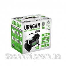 Компрессор URAGAN <90110> 35 л/мин, фото 3