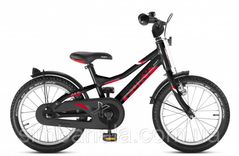 Двухколесный велосипед Puky ZLX 16 Alu(black/чёрный), Германия