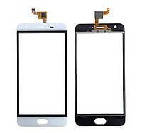 Touchscreen (сенсор) для Oukitel K4000 Plus Білий
