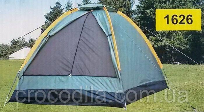 Палатка кемпинговая 2 местная  210*150x130 см LANYU LY 1626