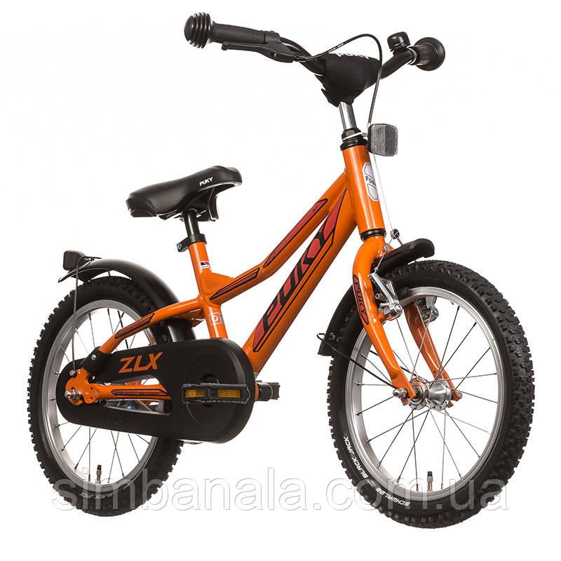 Двухколесный велосипед Puky ZLX 16 Alu(orange/оранжевый), Германия