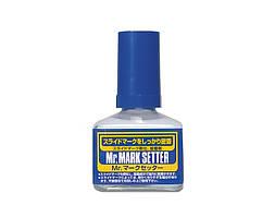 Жидкость для аппликации декали MR. MARK SETTER 40 мл. MR. HOBBY MS232