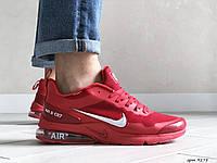 Мужские кроссовки в стиле Nike Air Presto CR7, сетка, красные с белым, 44р(28,4 см), последний размер