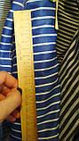 Сорочкова тканина смужка 100% бавовна, фото 2