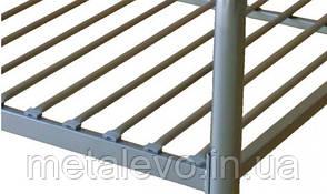 Металлическая кровать БРИО-1 ТМ Метакам, фото 2