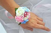 Бутоньерка  на руку  розочки(разные цвета), фото 1