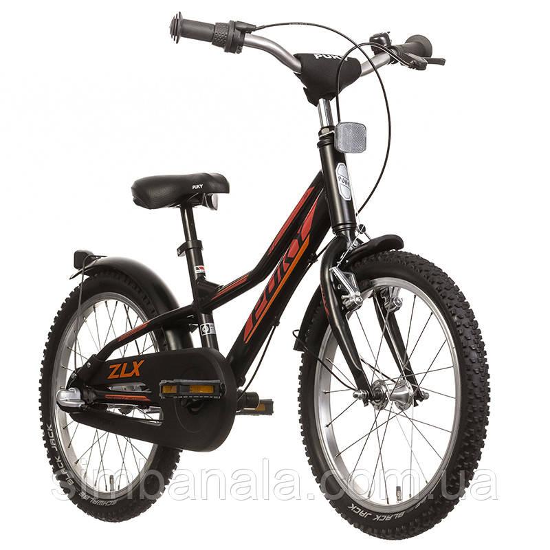 Двухколесный велосипед Puky ZLX 18-3 Alu(black/чёрный), Германия