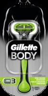 Gillette Body Rasierer - Мужская бритва для тела 1 шт.