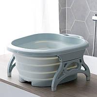 Складна ванночка для ног с масажером, фото 1