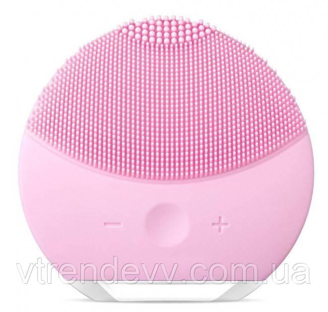 Щетка электрическая массажная для лица Forever Lina mini Pink Розовая