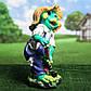 Садовая фигура Лягушка с лопатой 50 см гипс, фото 2