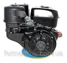 Двигатель бензиновый Grünwelt GW460F-S  (18 л.с., шпонка Ø25 мм)
