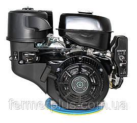 Двигатель бензиновый Grünwelt GW460FЕ-S  (18 л.с., шпонка Ø25 мм, электростартер)