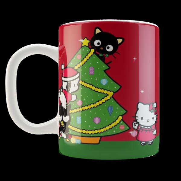 Hello Kitty Merry Christmas.Kruzhka Chashka Hello Kitty Merry Christmas