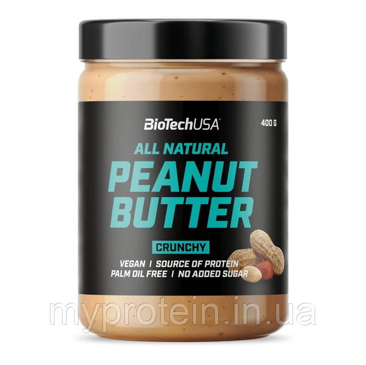 BioTechЗаменители питанияAll Natural Peanut Butter400 g