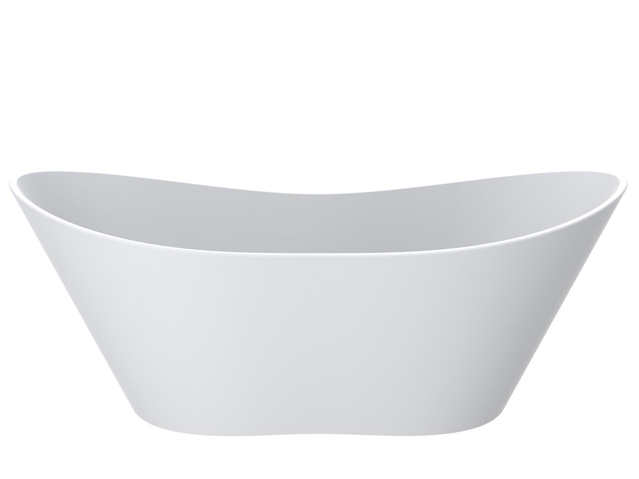 Ванна MIRAGGIO FLORIDA матовая с литого мрамора