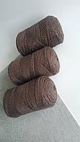 Macrame Cotton Lurex №736 Шоколад