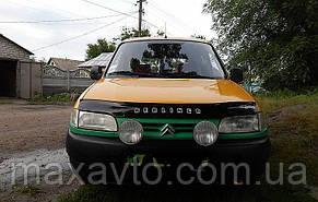 Мухобойка, дефлектор капота Citroen Berlingo с 1996-2002 г.в.